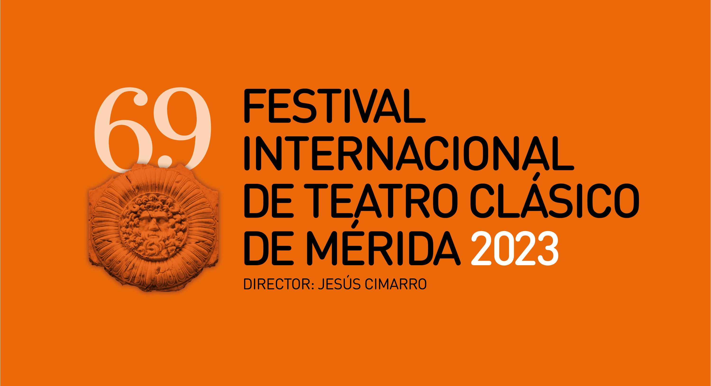 Logotipo 65ª edición Fondo naranja