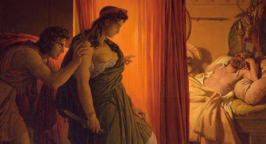 After Clytemnestra's defeat