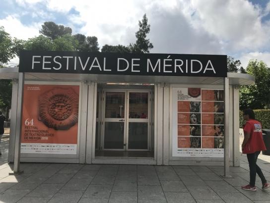 El Festival de Mérida abre su taquilla principal a las puertas del teatro